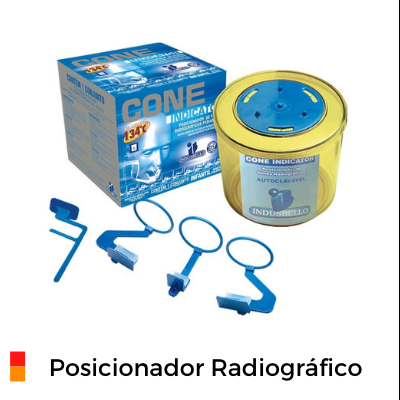 Posicionador Radiográfico para exames Periapicais Paralelismo