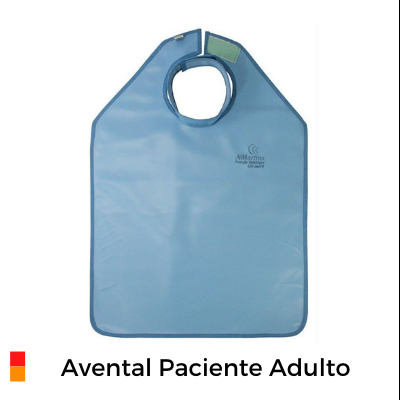 Avental Paciente Adulto 76x60cm